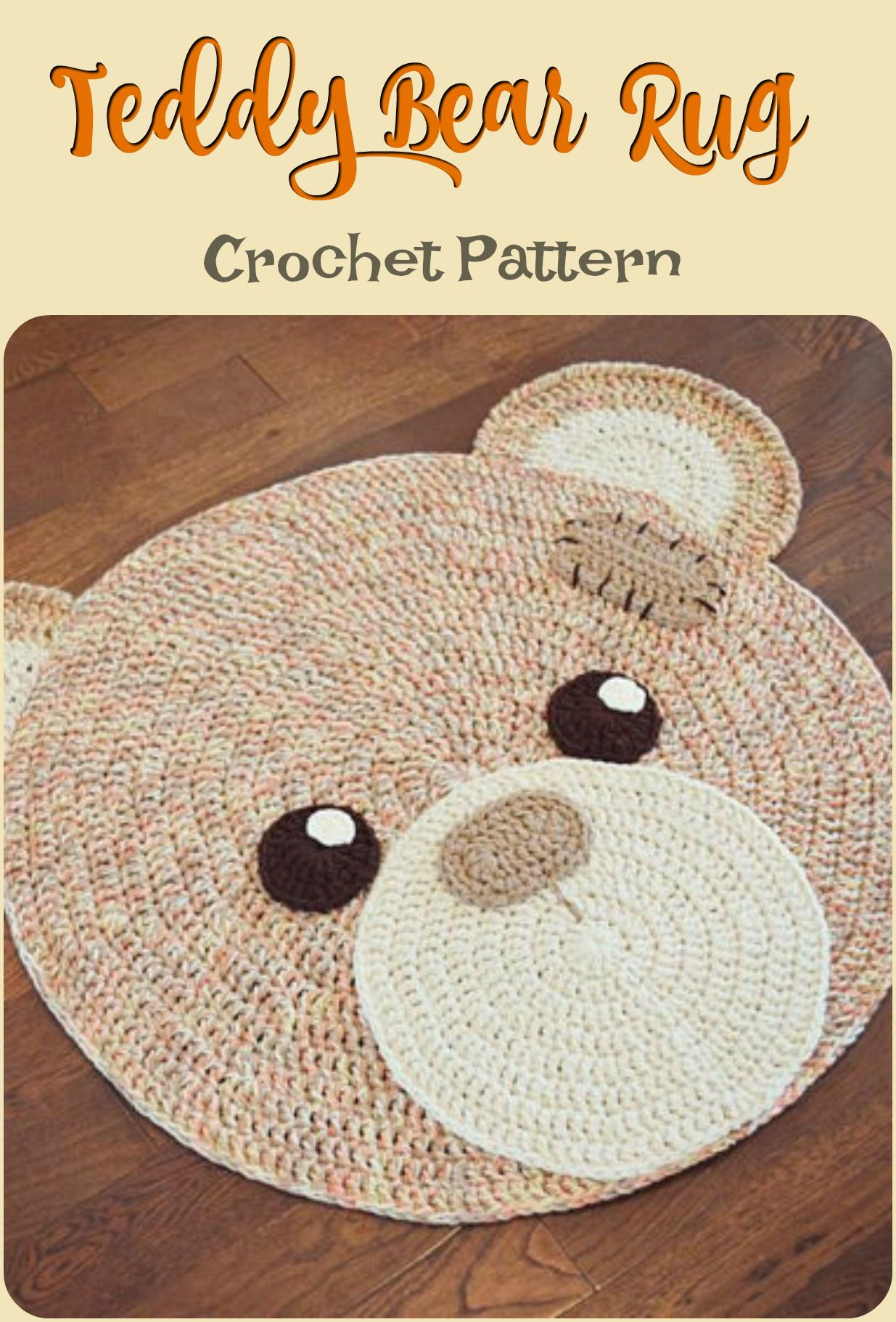 How Adorable Is This Teddy Bear Crochet