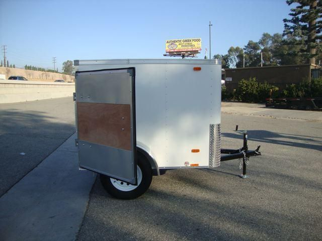 4x6 Enclosed Trailer >> 2014 Look Trailers 4x6 Small Cargo Trailer New Cars For Sale