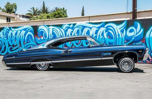 1967 Chevrolet Impala Flashback Fastback Lowrider Chevrolet