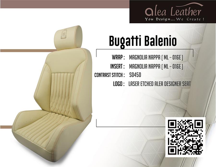 Alea Leather Best In Industry Oem Customizable Leather Seat