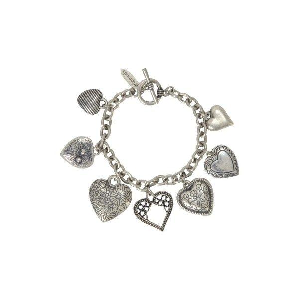 Heartbreaker Bracelet - Aéropostale® ($11) ❤ liked on Polyvore featuring jewelry, bracelets, accessories, jewels, aéropostale and aeropostale jewelry