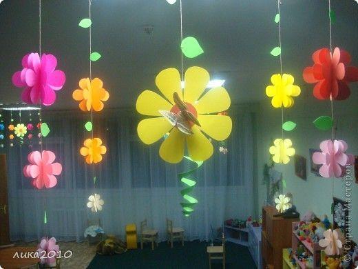 Как по-весеннему украсить комнату своими руками