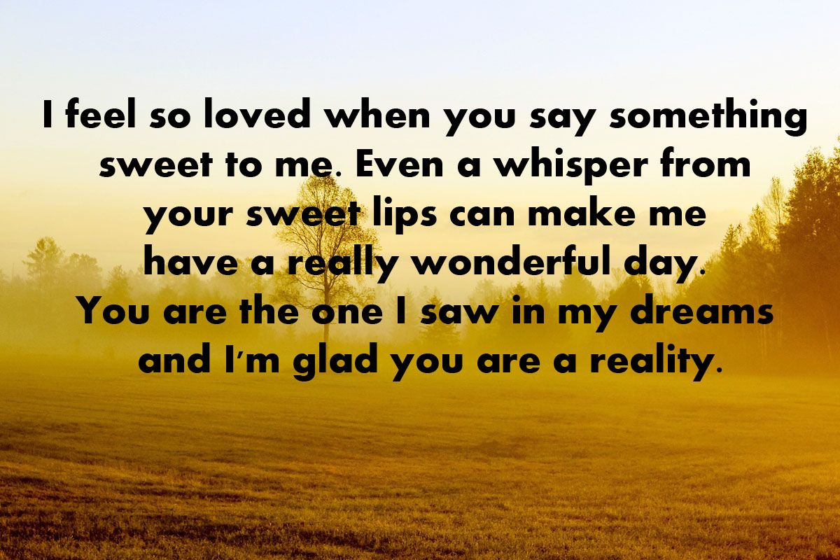 Sweet Love Quotes For Her Sweet Good Morning Quotes For Her  Good Morning Love Quotes