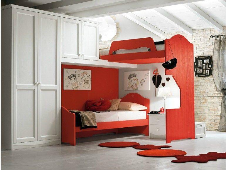 Callesella Camerette ~ Bedroom with storage bed cameretta con letto contenitore