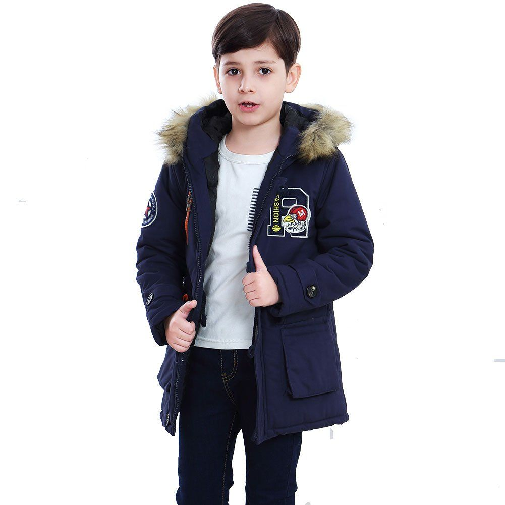 Big Boys Down Coat Winter Outwear Cotton Jacket Thick Overcoat Size 10 20 Shell 95 Cotton And 5 Polyester Lining 1 Winter Outwear Cotton Jacket Down Coat [ 1001 x 1001 Pixel ]