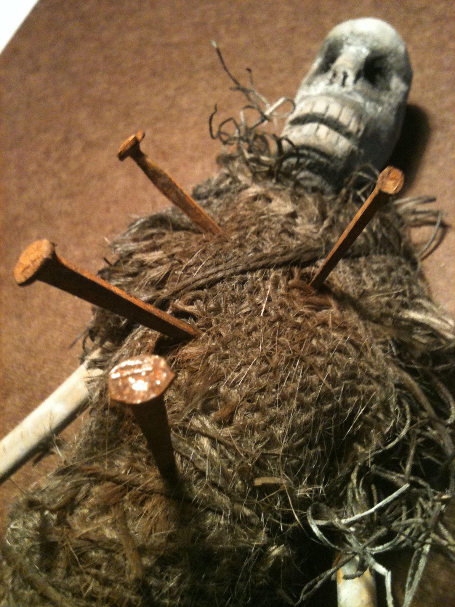 Zombie Voodoo doll | Voodoo halloween, Voodoo dolls, Voodoo costume