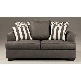 Levon Charcoal Loveseat 469 Decor Pinterest Dining Furniture