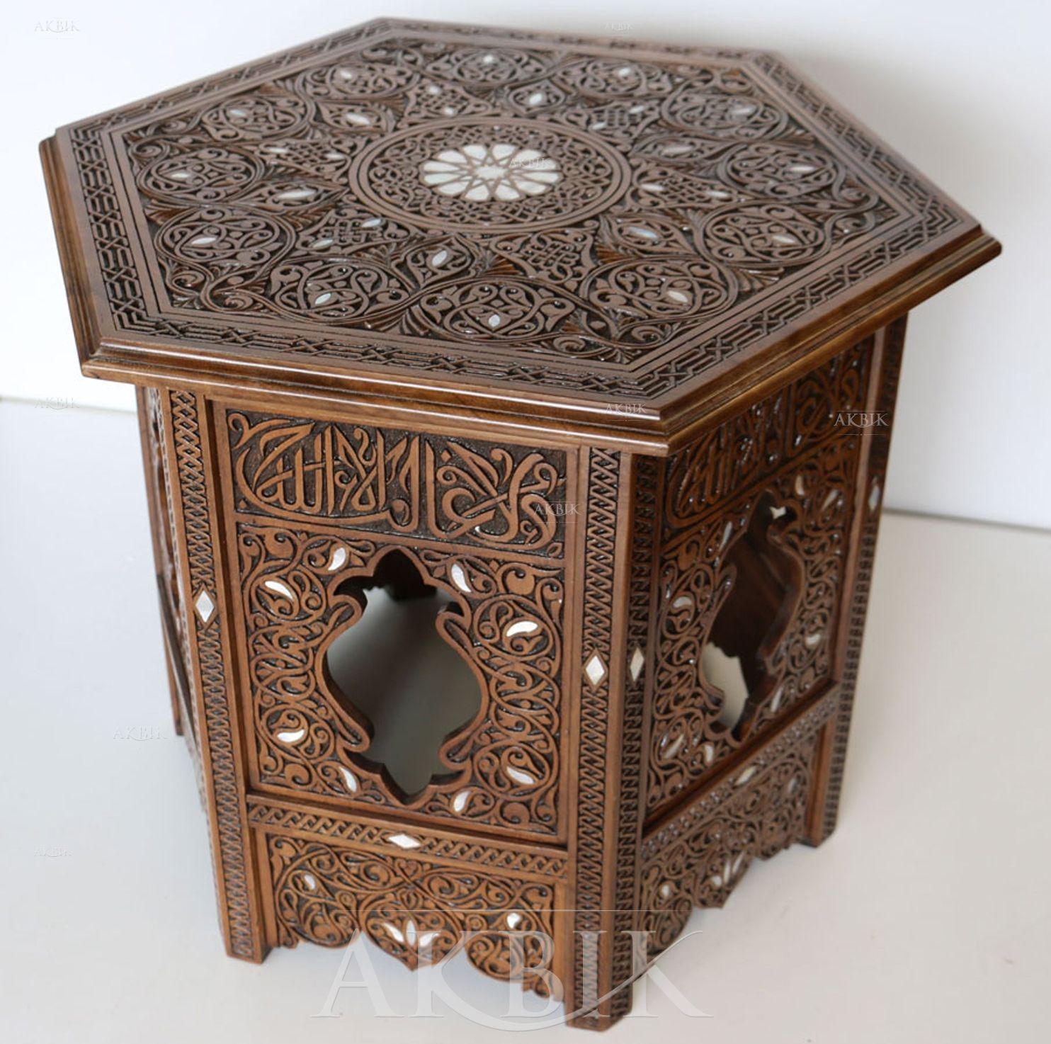 Mother Of Pearl Moroccan Syrian And Levantine Furniture Syrian Mother Of Pearl Side Table Crafty Moroccan Home Decor Furniture Decor Moroccan Furnitu