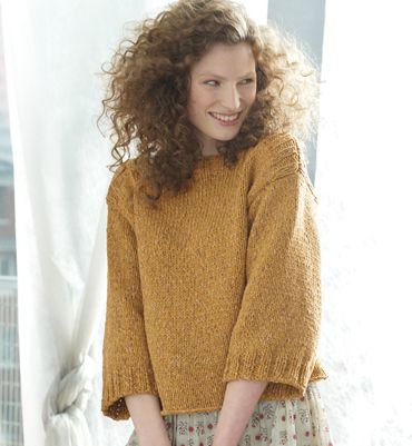 modele tricot pull carre