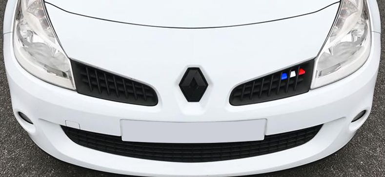 Details About Renault Clio Mk3 Sport 197 French Flag Grille