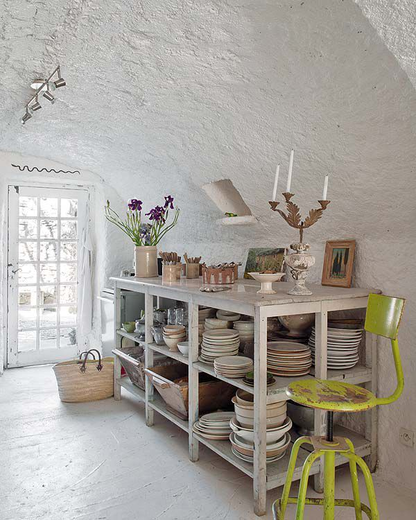 Vintage Provence Und Shabby Chic Im: Rural Shabby Chic In Provence