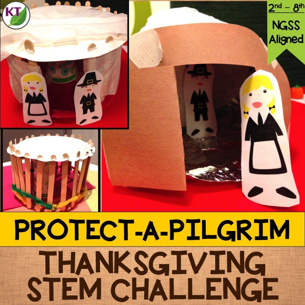 Thanksgiving Stem Challenge Protect A Pilgrim