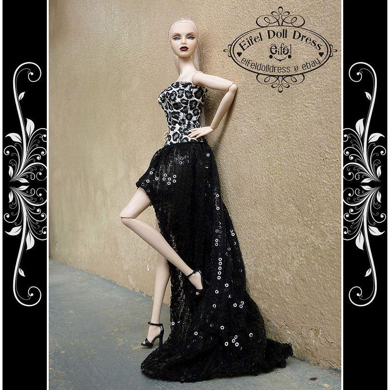Handmade dress by EIFEL DOLL DRESS