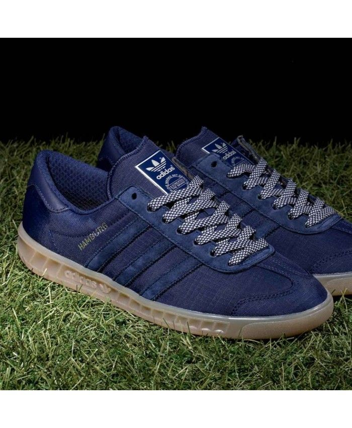 new style 943df 563c7 Adidas Hamburg Gore Tex Core Link Blue Trainer
