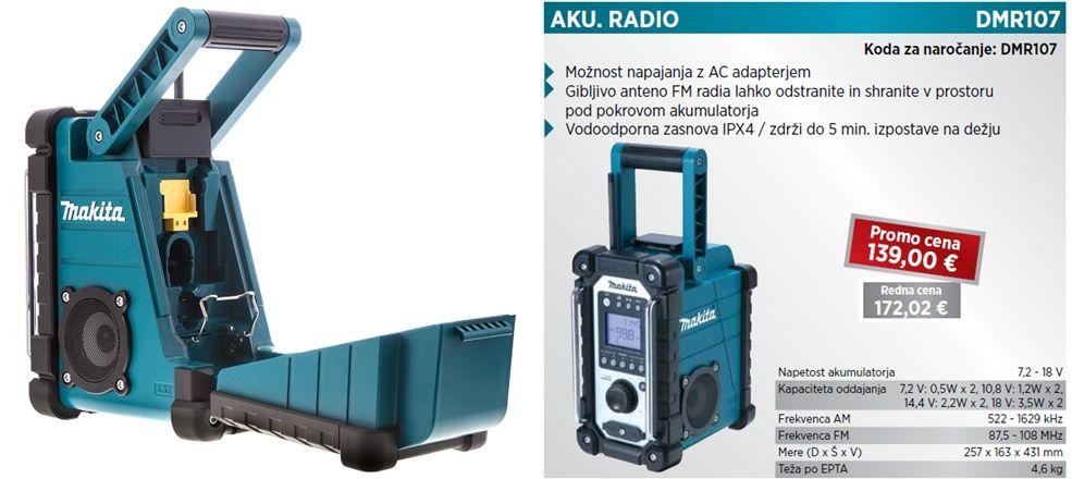 Radio Makita Dmr107 Makita Makita Tools Bosch Tools