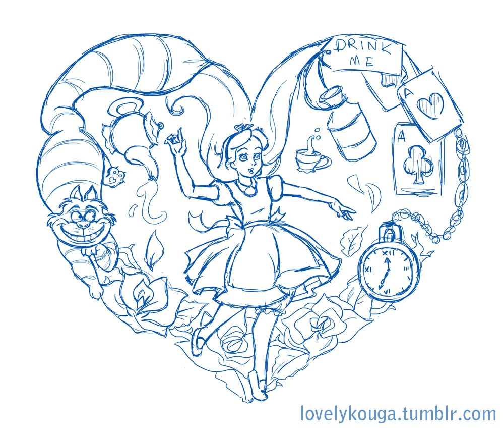 Wonderland Tattoo Google Search Alice And Wonderland Tattoos Wonderland Tattoo Alice In Wonderland Drawings