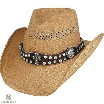 a3c8d6ead381c Bullhide Women s More Than Words Straw Hat