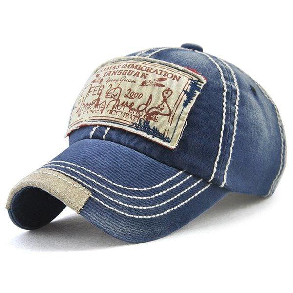 aa0d29eecd9 Bahamas Handwritten Letters Applique Embellished Baseball Hat