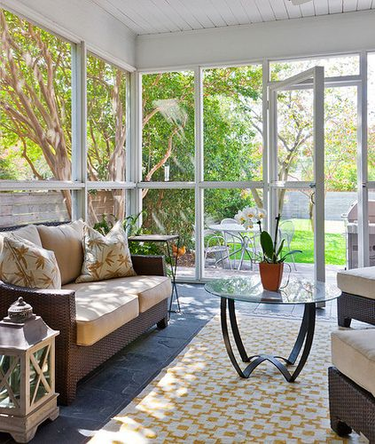 Glassed-in Sun Porch - Yes, Please!