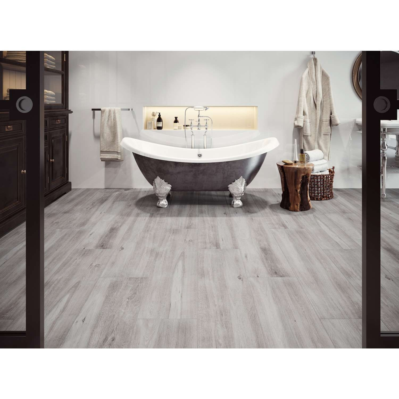AuBergewohnlich Fliesen In Holzoptik Weiß Grau | Bodenfliese Canadia Bianco 30x120cm |  Günstig Kaufen | Kostenlose