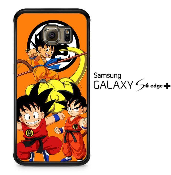 son goku kids Z3345 Samsung Galaxy S6 Edge Plus Case