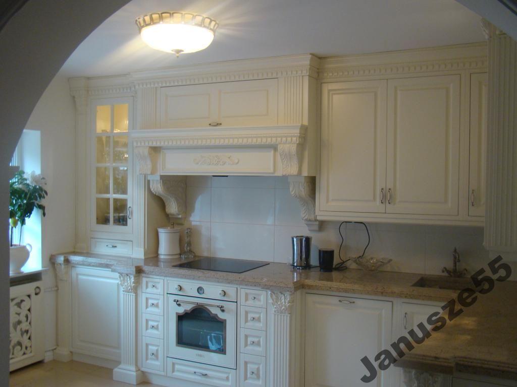 Kuchnie Angielskie Drewno Meble Szafki Kuchenne 4456698149 Oficjalne Archiwum Allegro Home Appliances Kitchen Cabinets Kitchen Appliances