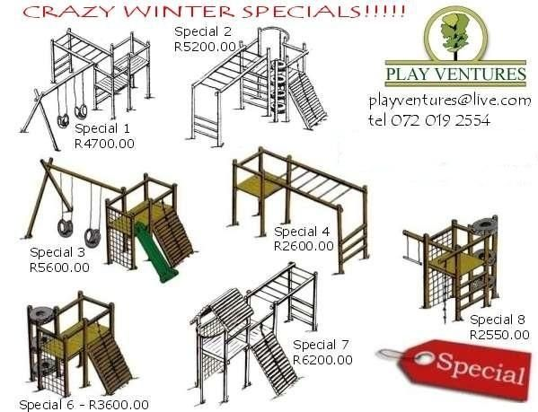 Playground Equipment Jungle Gym Cape Town Compact