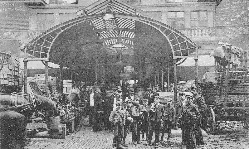 London COVENT GARDEN Market London history, Vintage