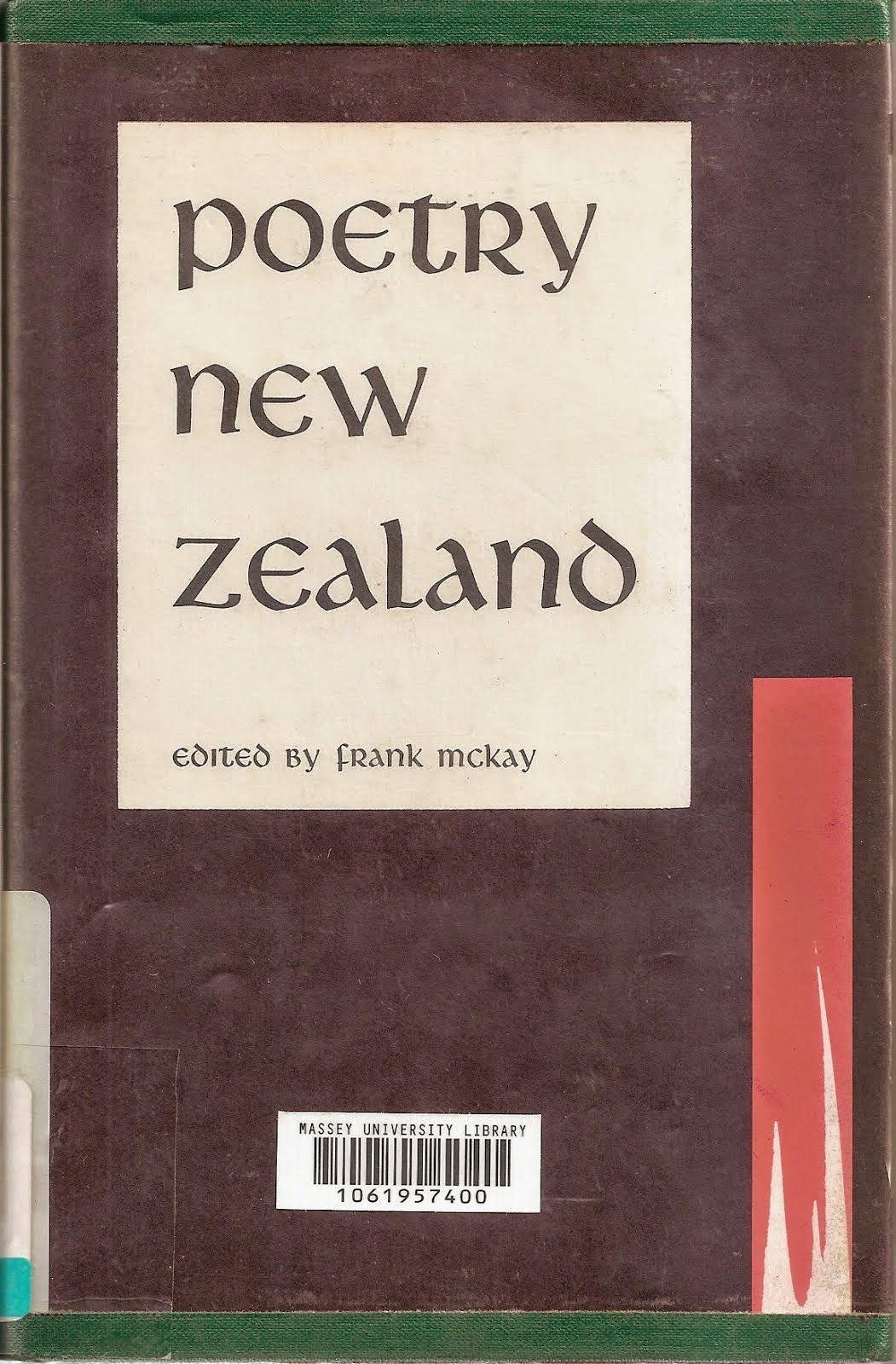 Poetry New Zealand Index