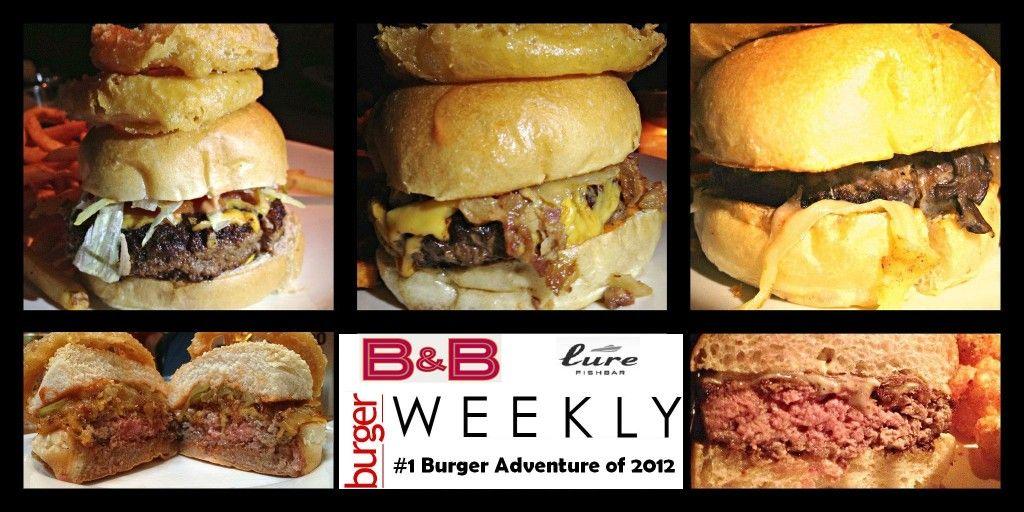 Photo of #1: Josh Capon's Burgers: Burger & Barrel and Lure Fishbar
