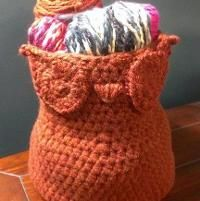 Crocheting : Mr. Spice Owl