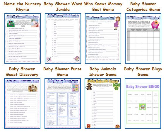 free baby shower game printouts on pinterest baby shower games