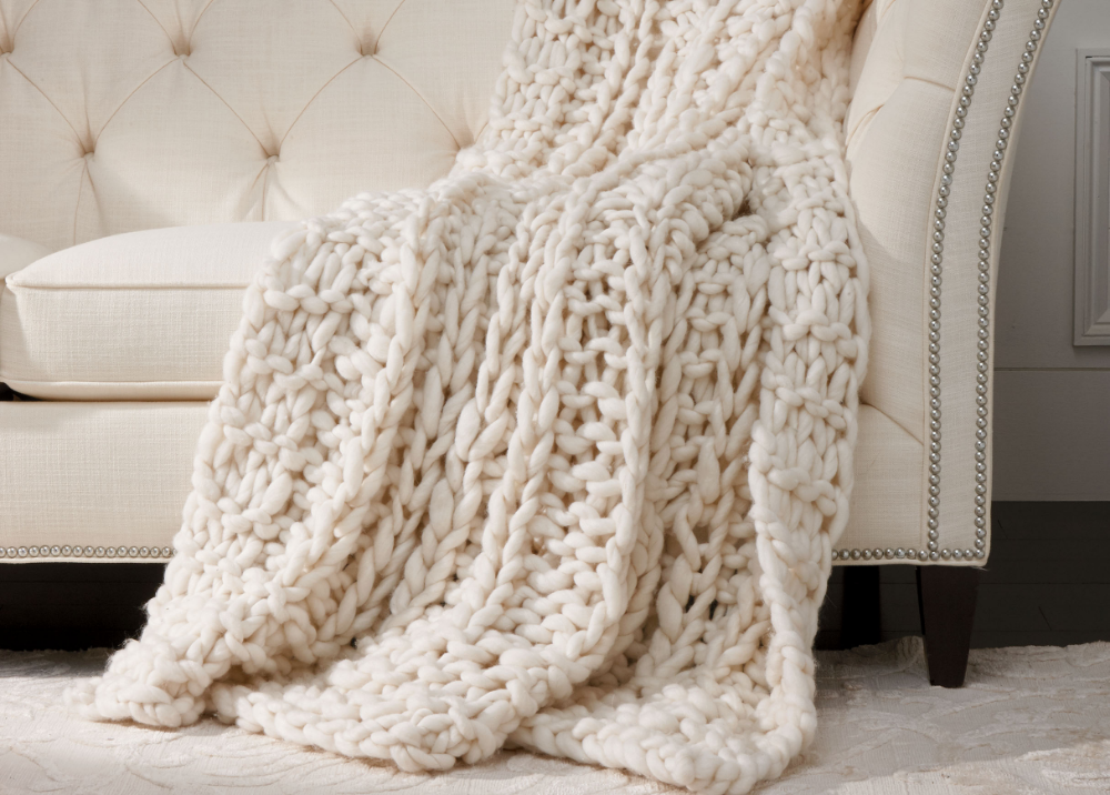 Cross Cable Knit Throw Throws Knitted Throws Cable Knit Throw Chunky Knit Throw