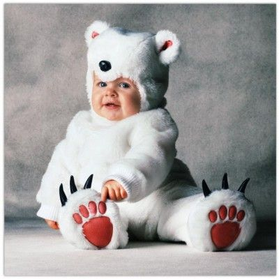 Cute Newborn Polar Bears  6143d366a02b