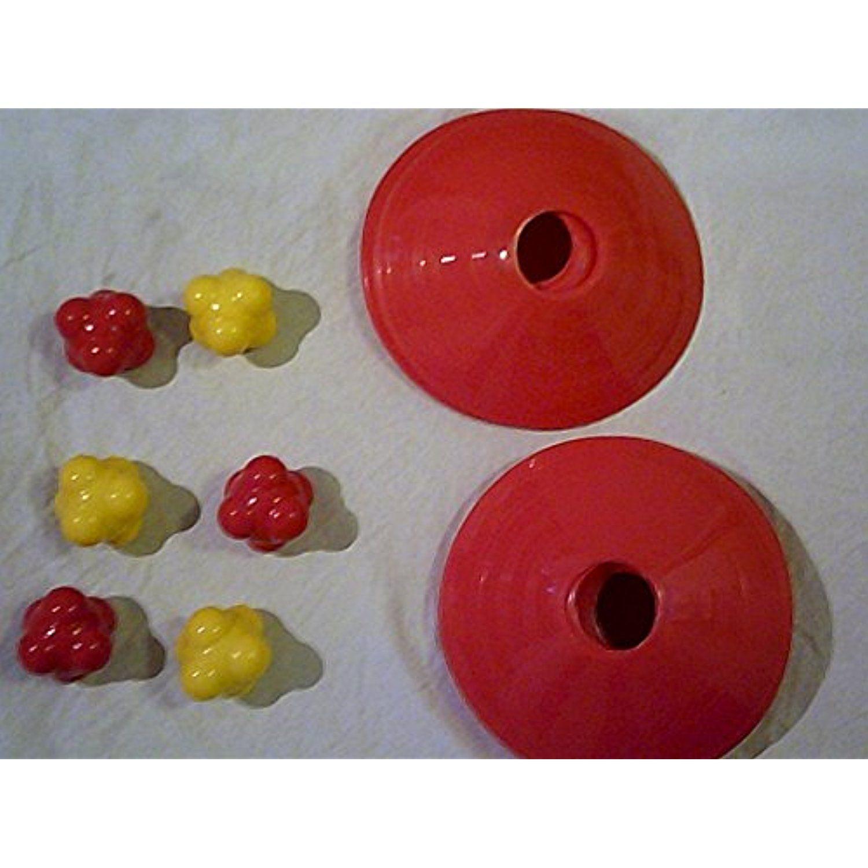 Bundle 20pcs soccer agility cones 6 agility balls 58mm
