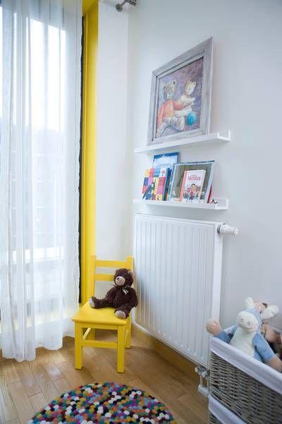 miniature chambre jaune de gar on 5 ans paris delphine. Black Bedroom Furniture Sets. Home Design Ideas