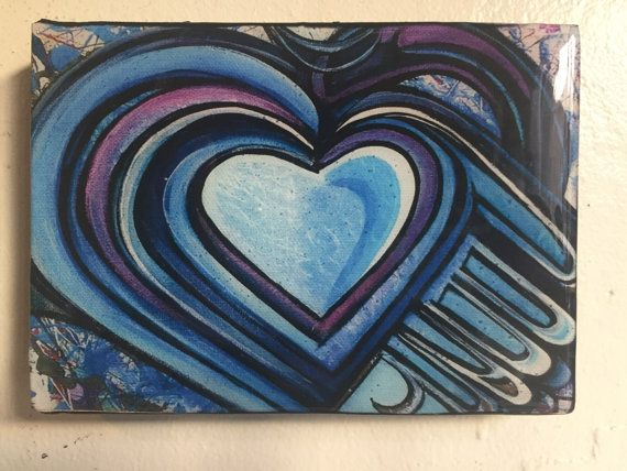Seven Sacred Hearts by SeanLevonNash on Etsy