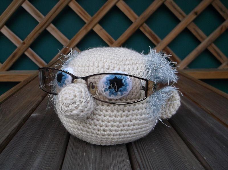 'Grandpops Specsafer' Glasses Holder #crochet