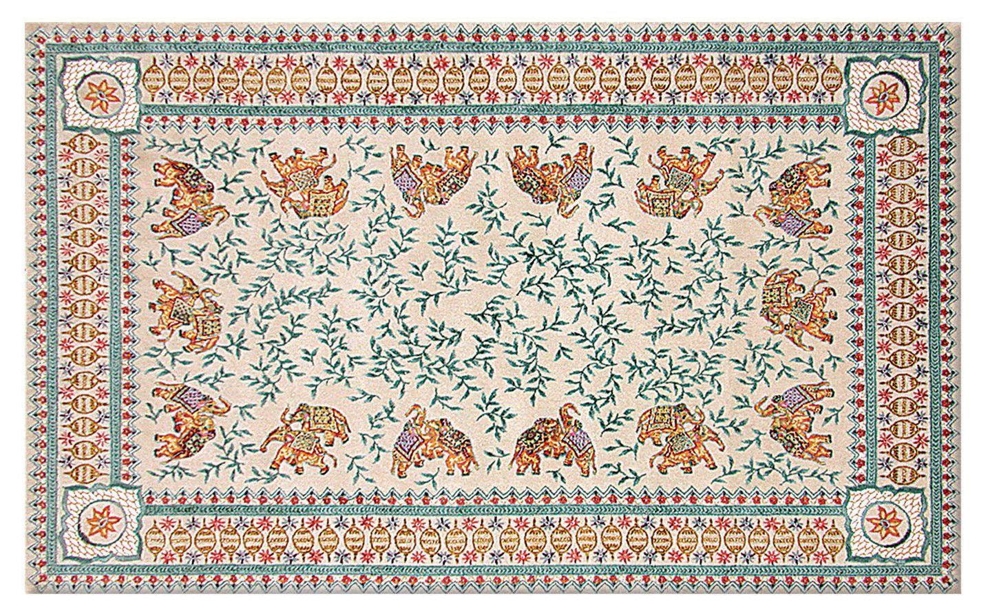 Qoryale Hand-Woven Area Rug
