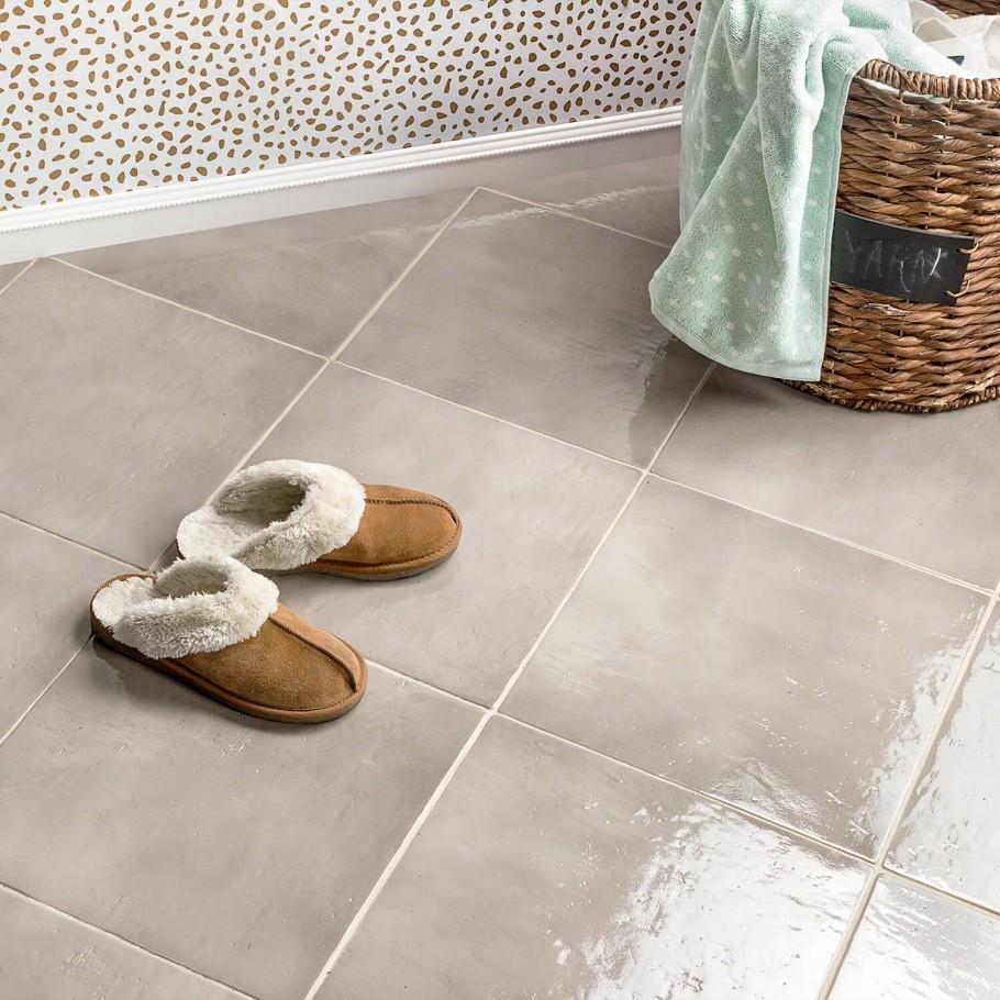 Cavallo Hazy Trail 14x14 Porcelain Tile In 2020 Gray Porcelain Tile Floor Gray Porcelain Tile Grey Painted Floor