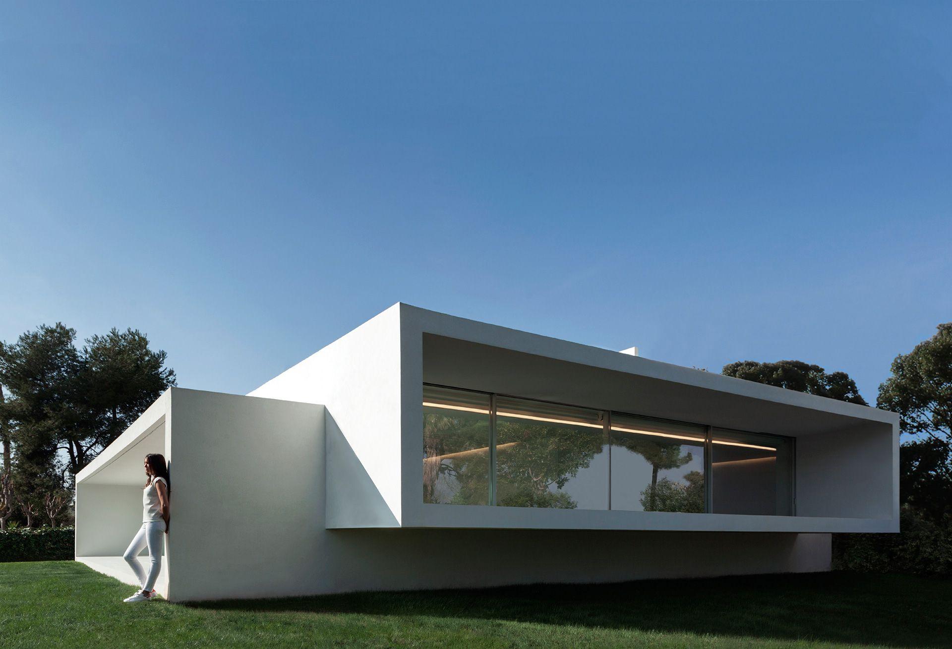 Fran silvestre arquitectos casa de la brisa house for Casa minimalista arquitectura
