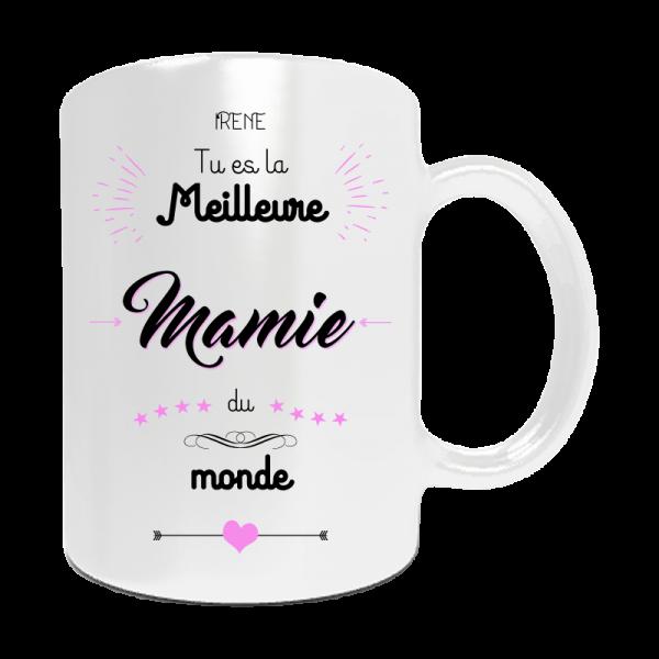"""Bien-aimé Mug personnalisé """"Tu est la meilleure mamie du monde"""". A  SD99"""