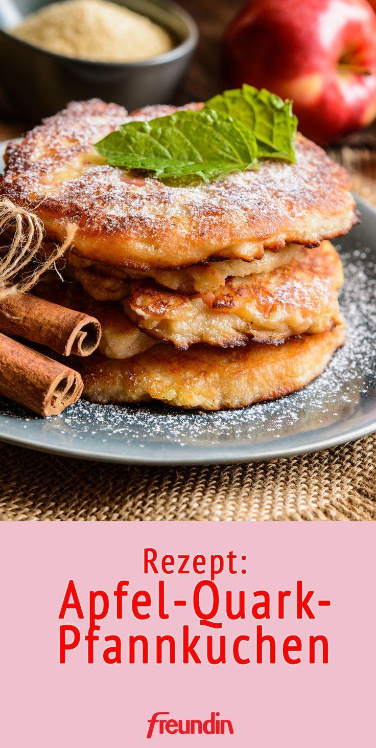 Rezept: Apfel-Quark-Pfannkuchen | freundin.de
