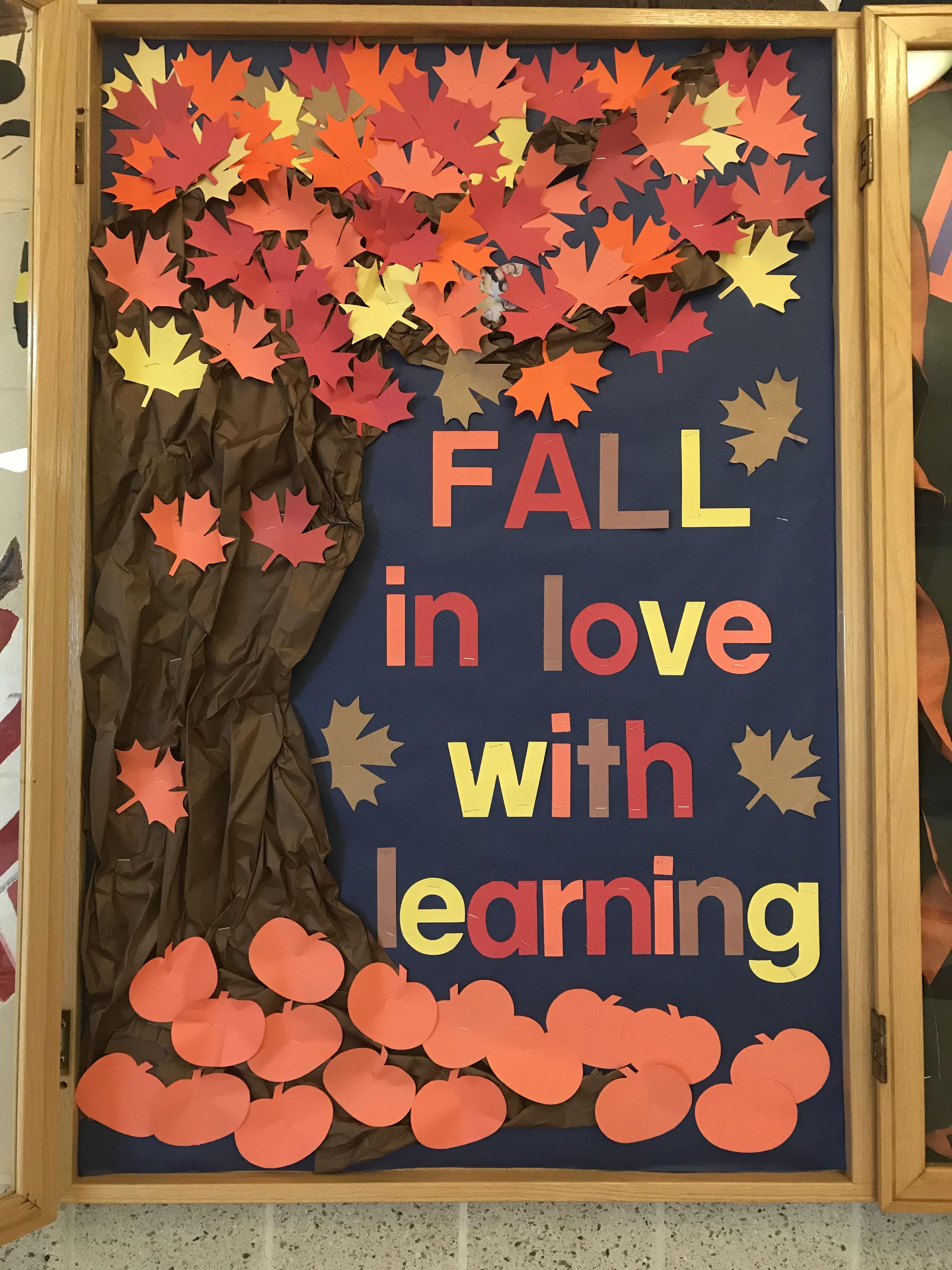 #falldoordecorationsclassroom