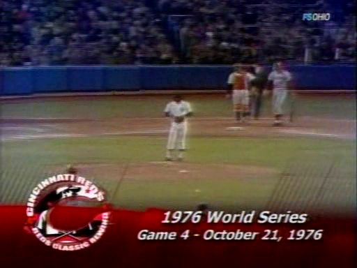 Mlb World Series 1976 Game4 Cincinnati Reds New York Yankees 21 10 76 Mlb World Series 1976 World Series Cincinnati Reds