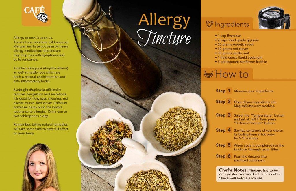 Allergy Tincture | MagicalButter com | Magical butter machine