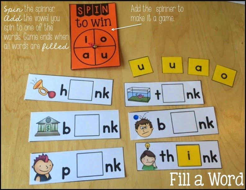 RTI: ink, ank, unk, onk Phonics Activities | School Ideas | Phonics