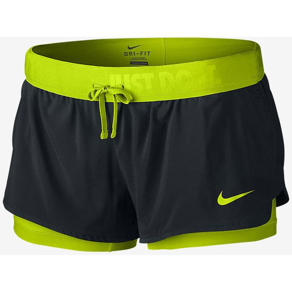 3c715b014004 Nike Full Flex 2-in-1 2.0 Women s Training Shorts. Nike.com ( 40) ❤ liked  on Polyvore featuring activewear