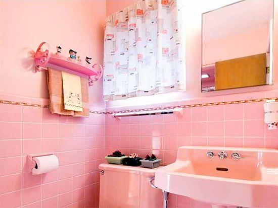 Superb Atomic Ranch Midcentury Interiors. 1950s HomeRetro HomePink BathroomsDream  ... Part 25