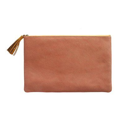 The Telegram Clutch - I need one of these!  Purse + Diaper bag = bag lady.  This would be perfect!